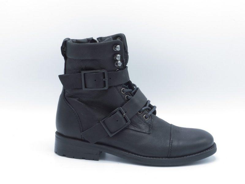 Blackstone QL09 zwart leer