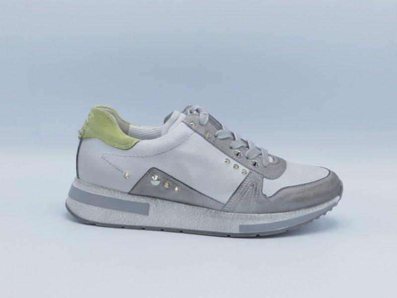 Paul Green 4796-024 wit met grijs