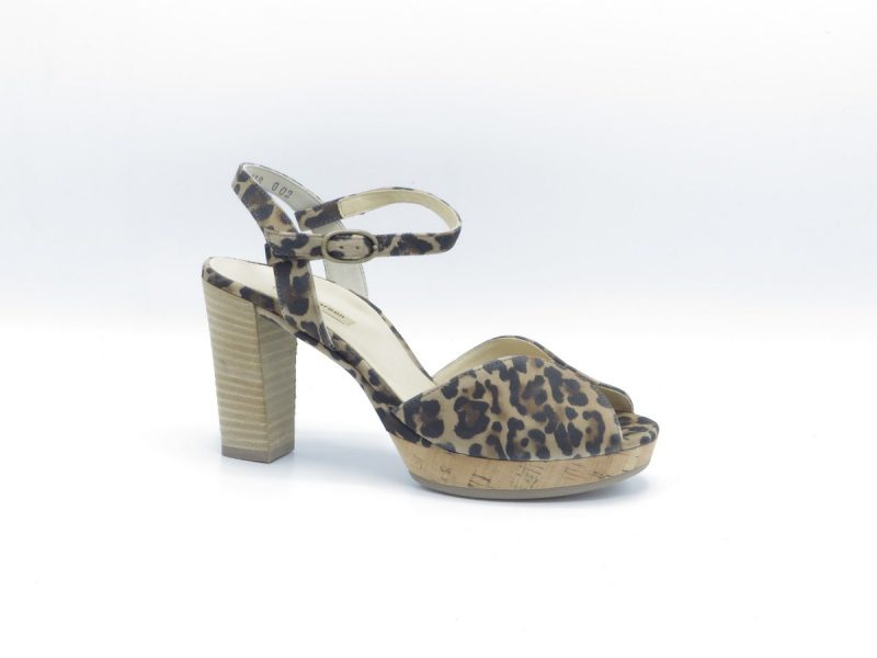 Paul Green 7478-014 leopard print