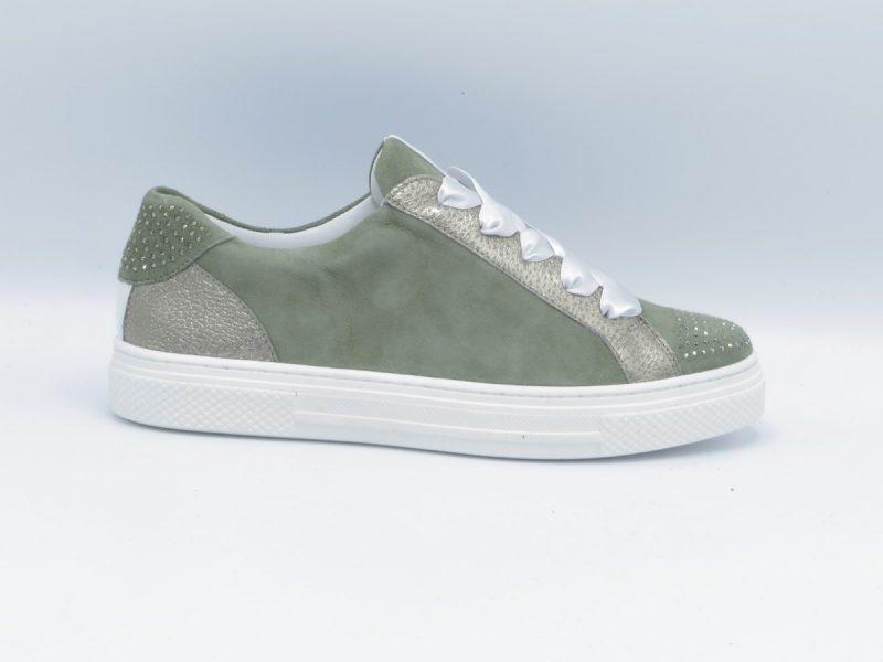 Hassia 7-301215 groen nubuck