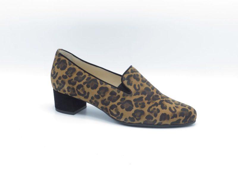 Hassia 8-303055 luipaard suède H hakhoogte 4cm