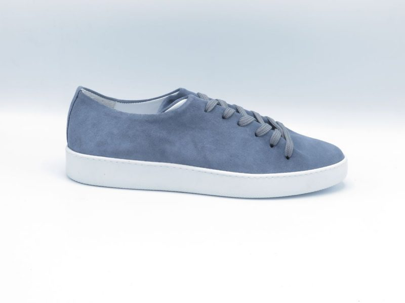 H32 one pice sneaker 8442-5800-107 jeans blauw suède