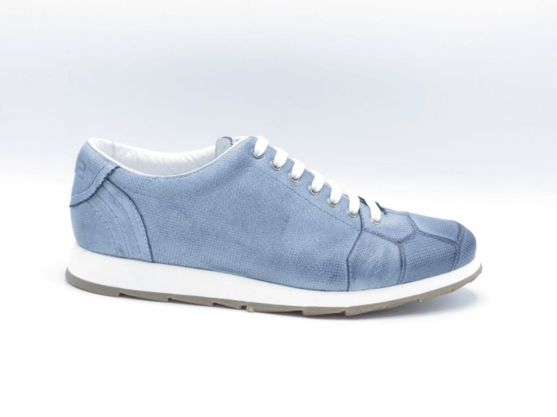 H32 sneaker 2297-5750 jeans blauw leer