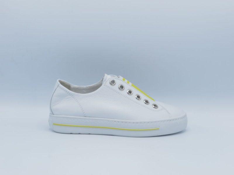 Paul Green 4797-026 wit met geel