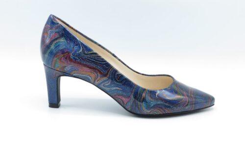 Peter Kaiser Manolla-A 66601-470 multicolor lak hakhoogte 6cm
