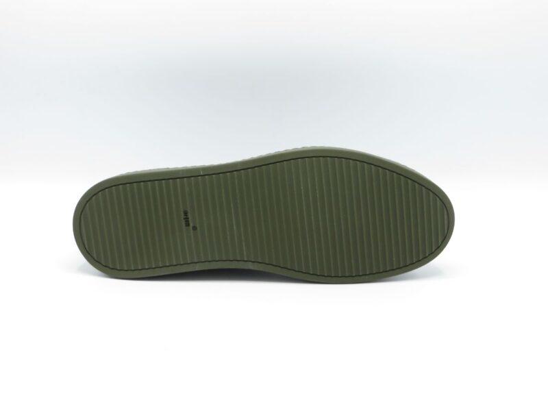 H32 Onepiece groen nubuck