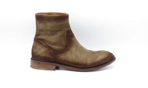 Cordwainer 19039 midden bruin suède