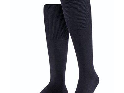 Falke sokken 15435 6370 kniekous donkerblauw