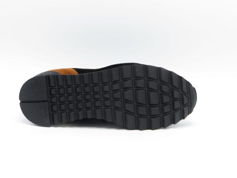 Hassia 2-302024-0182 Zwart-Cognac Suède